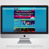 Az első (új) Jégdisco Szeged weboldalunkat közzétettük!