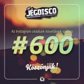 Több mint 600 aktív követőnk lett az Instagram fotó- és videómegosztó oldalunkon!