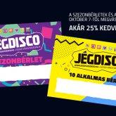 A Jégdisco Szeged bérletek péntektől megvásárolhatóak!