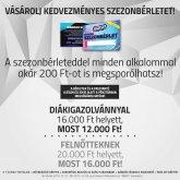 A kedvezményes Jégdisco Szeged szezonbérletek mégolcsóbban válthatóak meg!