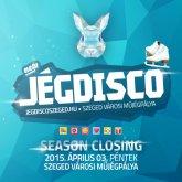 A tavaszi szünet egyetlen és eredeti Jégdisco Szeged péntek esti szezonzáróján csúszunk!