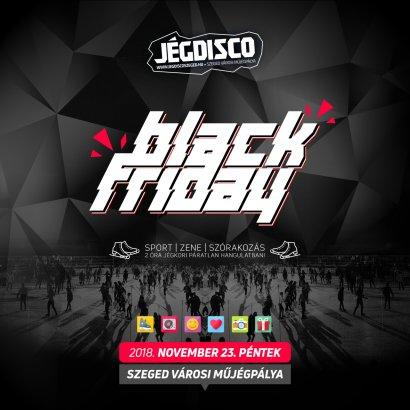 Most pénteken Black Friday Ice Party + AKCIÓK!