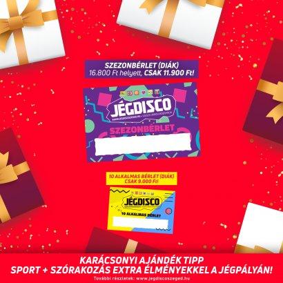 Karácsonyi bérlet akciók szuper árakon! Ajándékozzon sportos élményt!