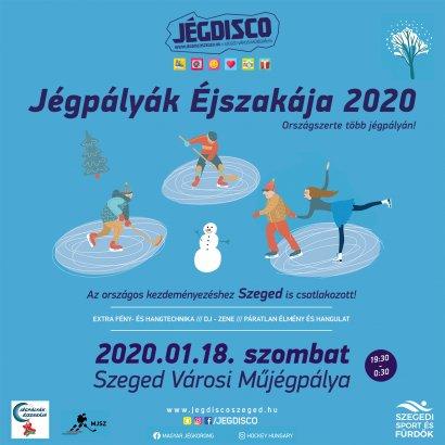 Jégpályák Éjszakája 2020 - Ezen a héten szombaton!
